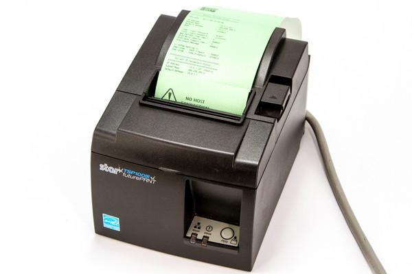 Star Micronics TSP143IIILANThermal Receipt Printer, Black, Ethernet Interface ipos supply