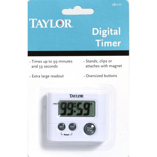 Taylor 5827-21 Digital Kitchen Timer