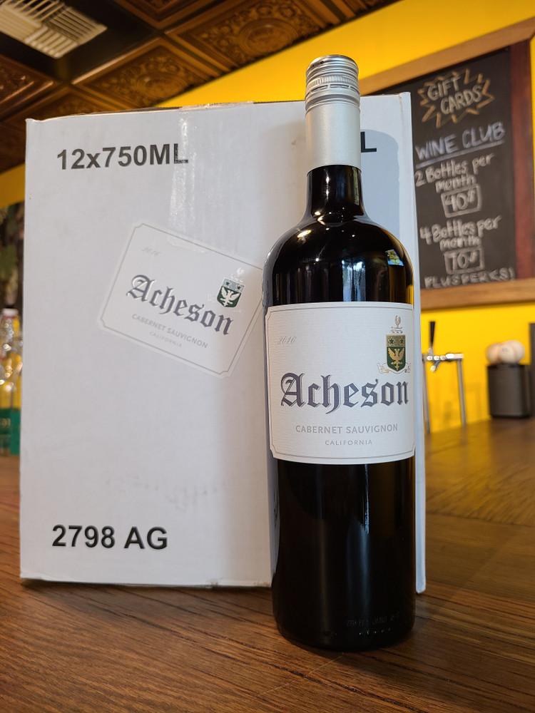 2016 Acheson Cabernet Full Case
