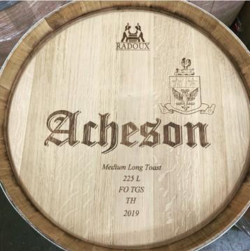 """Acheson """"The Whip"""" Chardonnay"""