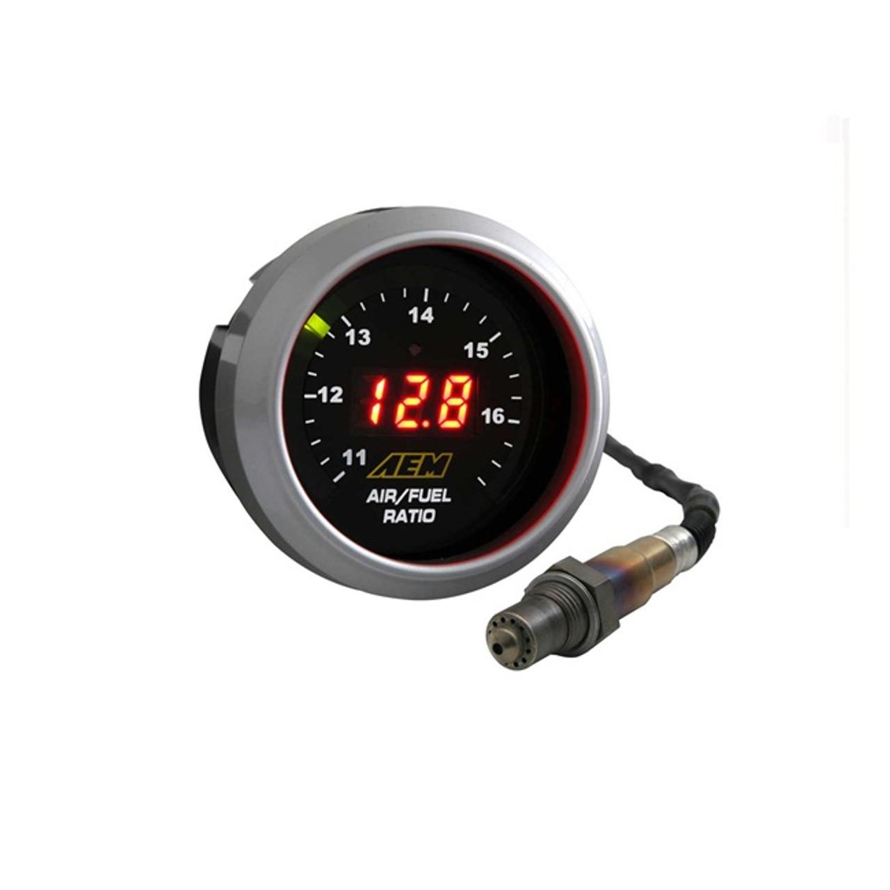 2 x Digital O2 Uego Air Fuel Ratio Gauge Kit Exhaust Gas Temperature Gauge