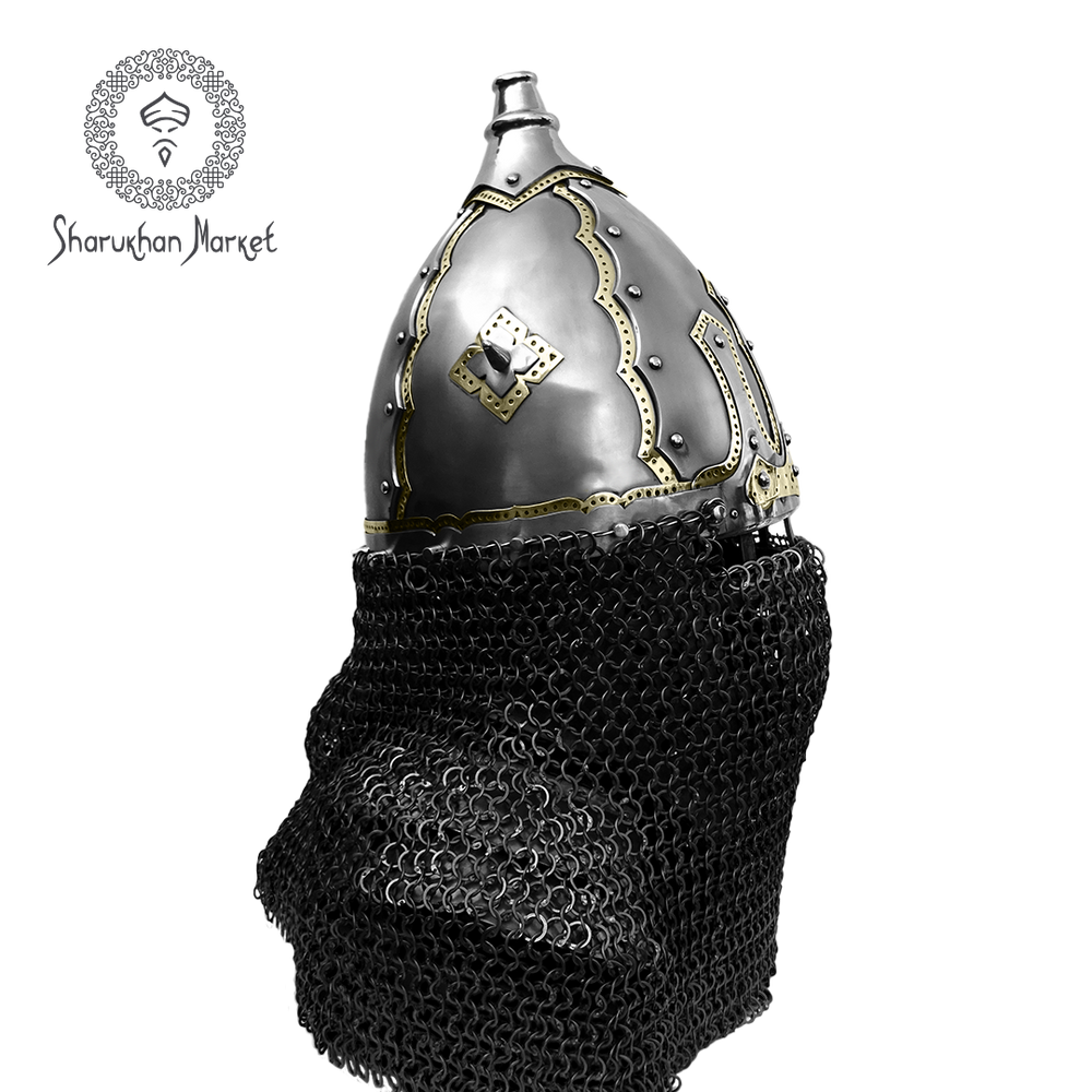Black Burial Helmet