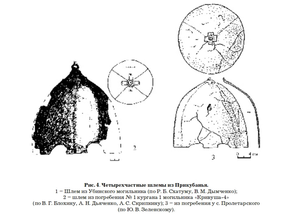 Historical source from the burial near the village of Proletary
