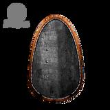 Egg shaped shield