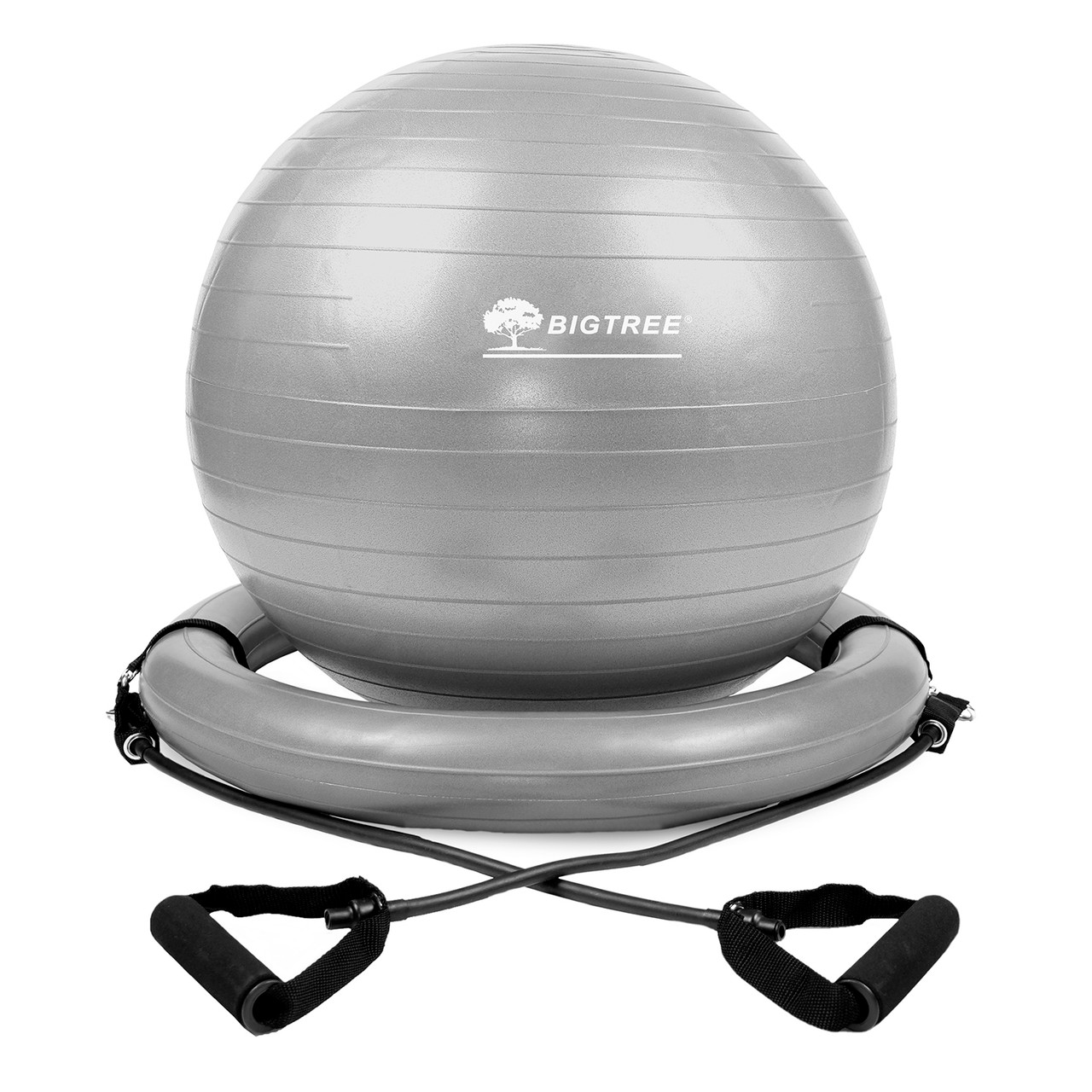 Amber Barbell Body Yoga Gym Exercise Fitness Ball with Resistance Straps