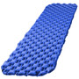 BIGTREE Blue Camping Sleeping Pad, 40D Nylon Large Air Mattress, Sleeping Pads for Backpacking, Ultralight, Inflatable& Compact Hiking Air Mattress