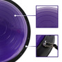 """21"""" Balance Trainer Stability Ball Pilates Resistance Bands Purple"""