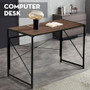 Desk Computer Laptop Writing Home Office Easy Study Workstation Brown