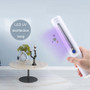 Wand Sanitizer UV-C Light Best Method UVC Disinfecting Bacteria Hard Surfaces Food Air Water Portable Easy Use Kills All Germs