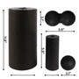 Balance Roller Plantar Peanut Lacrosse Ball Physical Therapy Core Pain Relief