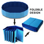 """47"""" Foldable Dog Outdoor Swimming Pool"""