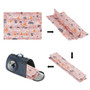 Dog Self Cool Mat Summer Cooling Kennel Crate Comfort Pad Pink Small