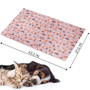 Dog Self Cool Mat Summer Cooling Kennel Crate Comfort Pad Pink XL