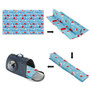 Dog Self Cool Mat Summer Cooling Kennel Crate Comfort Pad Blue XL