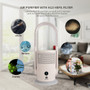 Bladeless Oscillating Fan And Air Purifier In One, True Hepa Filter