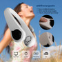 Necklace Fan Personal Cooling System USB Rechargeable