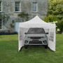 10x10 Ft  Adjustable Canopy with Window Wall