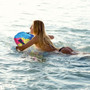 Inflatable Body Board Raft for Kids - Multicolor