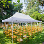 Outdoor Canopy 10x20 ft for Party Wedding Tent Heavy Duty Gazebo Pavilion White