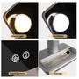 Make-Up Mirror with Lights Hollywood Style LED Multicolor Touch Control