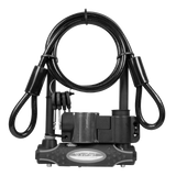Master Lock 13mm D-Lock with Cable & Carrier Bracket