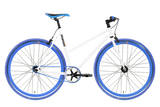 Moosher Single Speed - White Series Blue