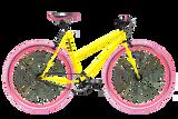 Moosher Single Speed - Yellow Series Pink