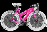 Moosher Single Speed - Pink Series White