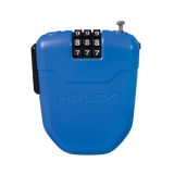 Hiplok FX Combination Bicycle Lock - Blue