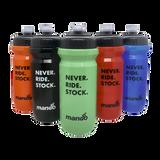 Mango Bikes Never Ride Stock Water Bottles Group