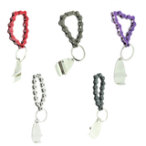 Colourful Bike Chain Keyrings with Bottle Opener