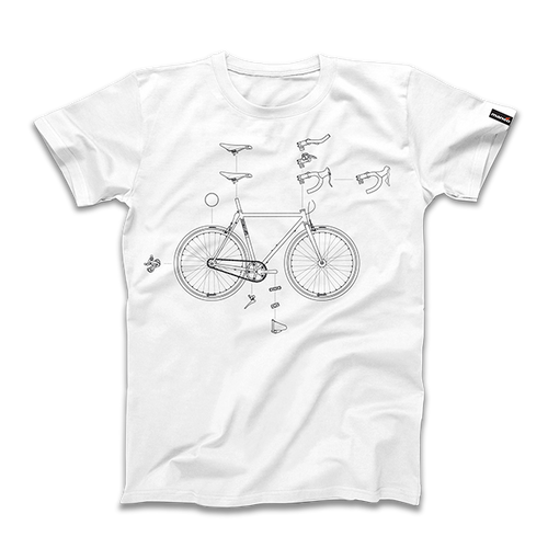 Mango Bikes - Custom Explosion Unisex T-Shirt
