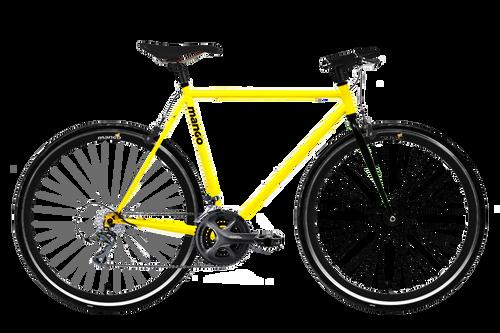 OG 2x8 Speed - Matte Yellow
