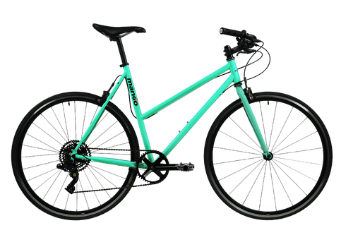 Pooch 1x8 Speed Urban Bike – Aqua