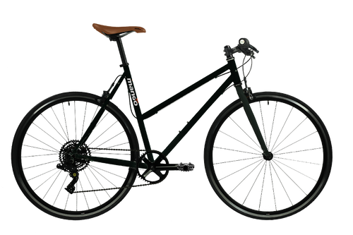 Pooch 1x8 Speed Urban Bike – Matte Black