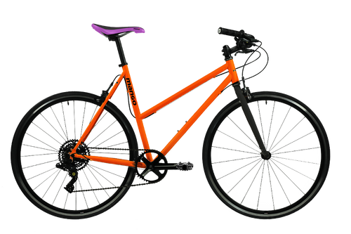 Pooch 1x8 Speed Urban Bike – Matte Orange