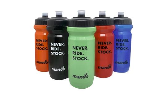 Mango Bikes Never Ride Stock Water Bottle