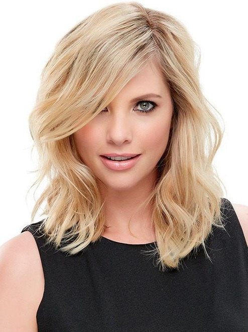 """easiPart HH 12""""   Remy Human Hair Topper (Mono Top)"""
