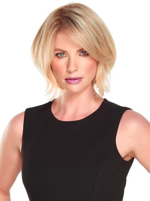 "easiPart HD XL 8"",  Jon Renau, Heat Resistant, Synthetic Hair Topper, Short Hair Wig, Clip-in Topper"