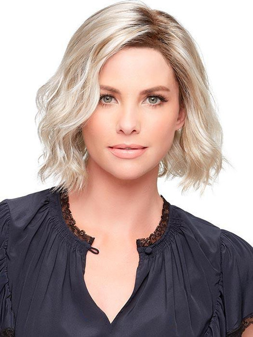 January, Synthetic Lace Front Wig, Mono Top, Short Hair Wig
