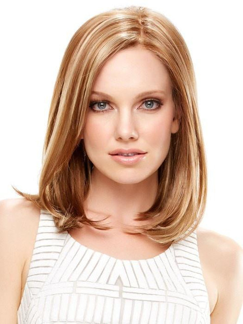 Elle, Jon Renau, Synthetic Hair Wig, Lace Front Wig, Monofilament Cap, Long Bob, Natural Looking Wig