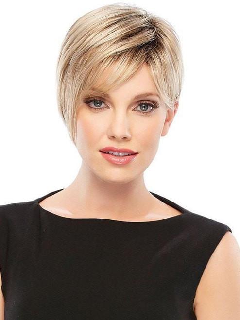 Natalie, Jon Renau, Synthetic Hair Wig, Open Cap, Asymmetrical Cut, Short, Stylish, Petite or Average