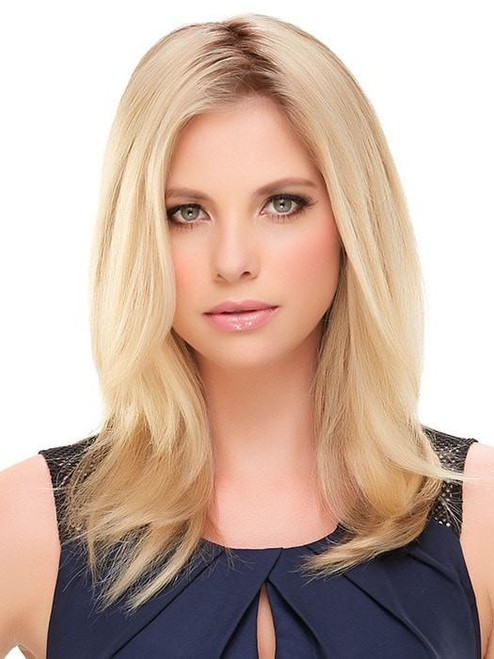 """easiPart HH XL 12"""" Exclusive Colors   Remy Human Hair Topper (Mono Top)"""