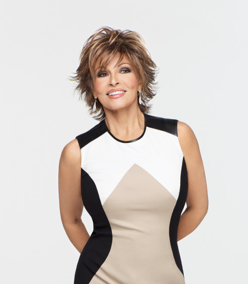 Trend Setter, Raquel Welch, Synthetic Hair Wig, Layered Shag Look