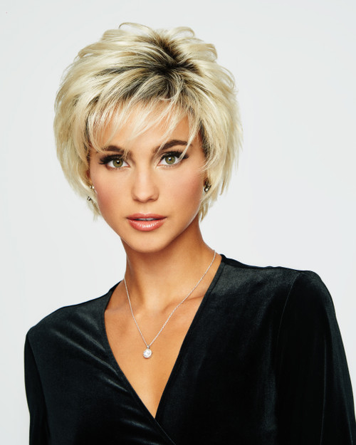 Voltage, Synthetic Hair Wig, Raquel Welch, Synthetic Fiber, Layered
