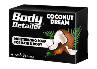 COCONUT DREAM moisturizing bath soap with organic Shea Butter