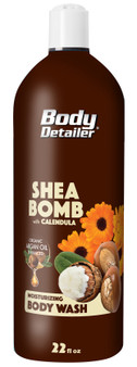 Shea Bomb bath and shower soap enhanced with Argan oil and Shea butter