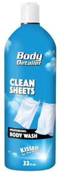 Baby powder scented body wash