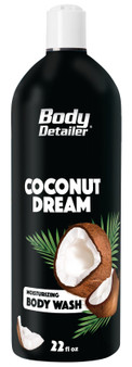 Coconut Dream body wash brings a tropical splendor vacation atmosphere to the shower
