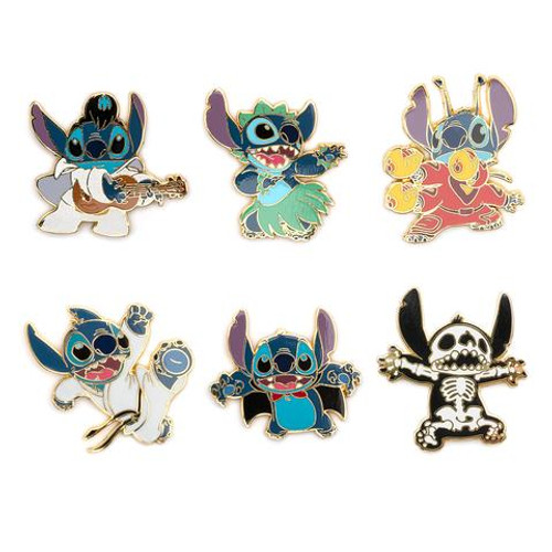 DISNEY LILO AND STITCH BLIND BOX Enamel Pin